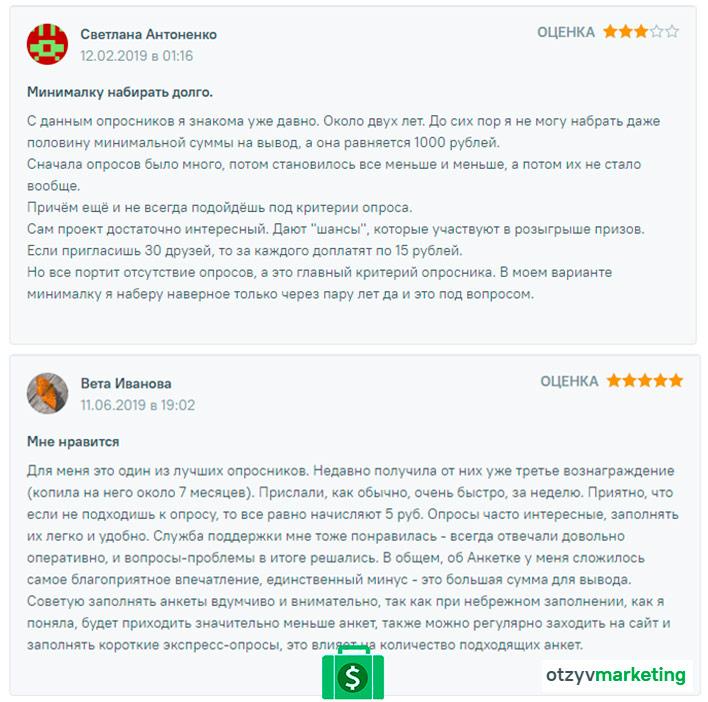 отзывы от других людей об анкетка.ру