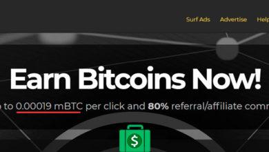 btcclicks обзор сайта по заработку на серфинге за биткоины