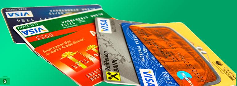 подключение карты банка