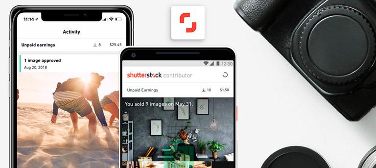 Shutterstock Contributor - самый популярный фотосток для заработка