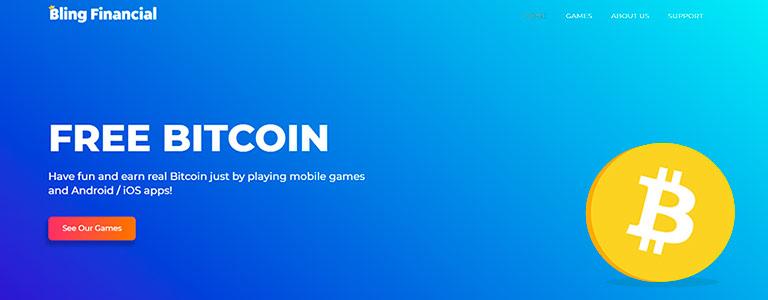 обзор на заработок биткоинов в играх от bling financial