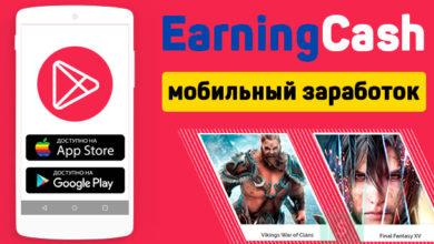 earningcash - выполняй задания на телефоне