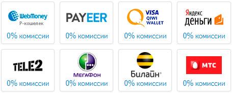 Вывод средств из проекта payad.me
