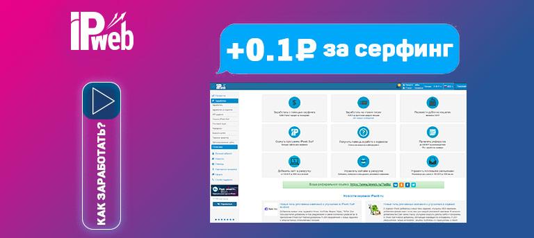 IPweb - обзор и отзывы о серфинге сайтов